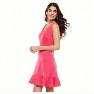Jennifer Lopez pink sleeveless dress size 0 NWT